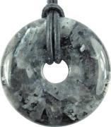 Granit (Larvikit) Donat Ø 30 mm