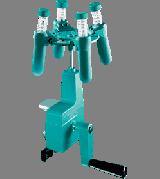 Zentrifuge mit Rotor