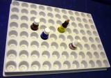 Sortierplatte für 88 Flaschen
