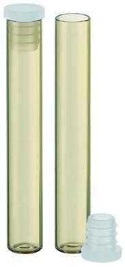 Flachbodenglas Ø 8 mm x 52,5 mm