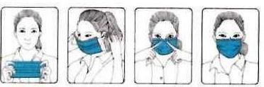 Mund-Nase-Maske 3-lagig